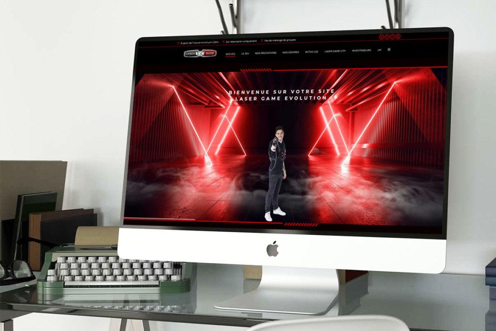 Un nouveau site pour Laser Game Evolution